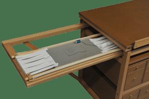 les options du meuble atelier couture. Black Bedroom Furniture Sets. Home Design Ideas