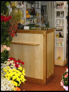 caisse magasin fleurs